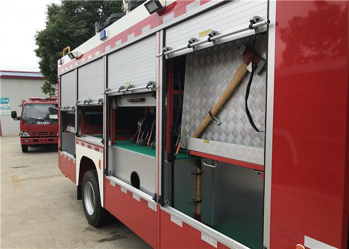 2x Halogen Lamp Tanker Fire Truck , 260 L/Min Flow Light Rescue Fire Trucks